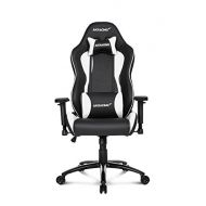AKRacing Nitro Series Premium Gaming Chair with High Backrest, Recliner, Swivel, Tilt, Rocker and Seat Height Adjustment Mechanisms with 5/10 warranty White