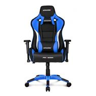 AKRacing Pro-X Luxury XL Gaming Chair with High Backrest, Recliner, Swivel, Tilt, Rocker and Seat Height Adjustment Mechanisms with 5/10 warranty Blue