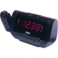 Alarm clock NAXA Electronics NRC-182 Dual Radio Alarm Clock, 2 USB Ports, Stream Audio Wirelessly via Bluetooth, Connect Smartphones, Tablets, Other Audio Devices, Black