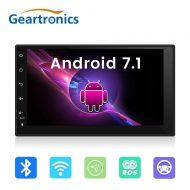 "Geartronics Android 7.1 2 din car multimedia Player 7"" Intelligent System with RDS radio Quad Core GPS Radio Wifi Stereo Audio Player"