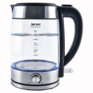 Aroma Professional 1.7-Liter Electric Kettle in Stainless Steel