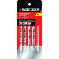 BLACK+DECKER Black & Decker 75-530 Jig Saw Blades (5 Pack)