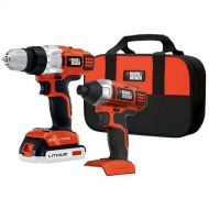 BLACK+DECKER BDCD220IA-1 20-volt Max DrillDriver and Impact Driver with