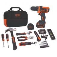 BLACK+DECKER Black & Decker BDCD8PK Drill Project Kit, 8V