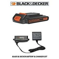 BLACK+DECKER LBXR20 Battery & Charges Set 20-Volt MAX Lithium-Ion Cordless Tool (Bulk Packaging