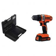 BLACK+DECKER LBXR20 20-Volt MAX Extended Run Time Lithium-Ion Cordless To with BLACK+DECKER LDX220C 20V MAX 2-Speed Cordless Drill Driver (Includes Battery and Charger)