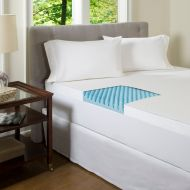 Comforpedic beautyrest ComforPedic Beautyrest 4-inch Textured Gel Memory Foam Mattress Topper