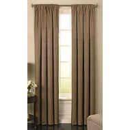 Beautyrest 15781052084TAU Barrou 52-inch by 84-Inch Blackout Single Window Curtain Panel, Taupe