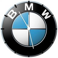 BMW Borderless Frameless Wall Clock W444 Nice For Decor Or Gifts