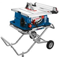 Bosch Power Tools Tablesaw 4100-10 - Worksite 10 Inch Table Saw with Gravity-Rise Wheeled Stand - Portable Small Table - Outstanding Capacity, Capability - Ideal For Heavy Duty Cut