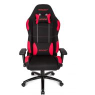 By AKRacing AKRacing Core Series EX Gaming Chair with High/ Wide Backrest, Recliner, Swivel, Tilt, Rocker & Seat Height Adjustment Mechanisms, 5/10 Warranty - Red/Black