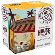 Coffee Bean & Tea Leaf Single Serve Coffee Cups, House Blend, Compatible with 2.0 K-Cup Brewers, 16 Count, Pack of 4