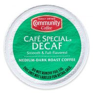 18-Count Community Coffee Cafe Special Decaf for Single Serve Coffee Makers