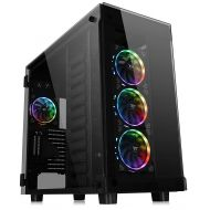 Thermaltake CA-1H1-00F6WN-00 Tower 900 Snow Edition Tempered Glass Fully Modular E-ATX Vertical Super Tower Computer Chassis