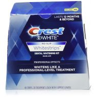 Crest 3D No Slip Whitestrips Professional Effects Teeth Whitening Kit 20 ea (Pack Of 5)