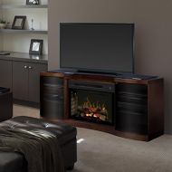 DIMPLEX Acton Media Console Electric Fireplace with Logs Walnut/1500