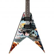 Dean},description:The Dave Mustaine United Abominations Electric Guitar has all the great attributes of the Dave Mustaine VMNTX adding awesome United Abominations graphics. With a