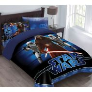 Disney Star Wars The Force Awakens Comforter Set with Fitted Sheet