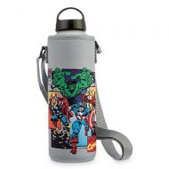 Disney Store Marvel Aluminum Water Bottle with Neoprene Cover