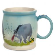 Disney Store Eeyore Watercolor Coffee Mug Cup