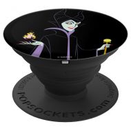 Disney Sleeping Beauty Maleficent With Staff & Aurora Flame - PopSockets Grip and Stand for Phones and Tablets