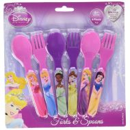 Disney Princesses Six Piece Fork & Spoon Set