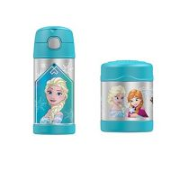 Disney Frozen Funtainer Thermos Bottle & Food Jar by Disney