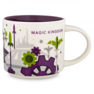 2018 Disney Magic Kingdom Version 3 You Are Here (YAH) Starbucks Mug. NWT