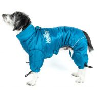 DogHelios Thunder-Crackle Full-Body Bodied Waded-Plush Adjustable and 3M Reflective Pet Dog Jacket Coat w/Blackshark Technology