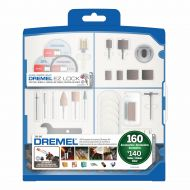 Dremel 710-08 160-Piece Rotary Tool Accessory Kit With Plastic Storage Case