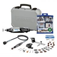 Dremel 4000-230 Rotary Tool Kit with 160-Piece Accessory Kit and Flex Shaft Attachment
