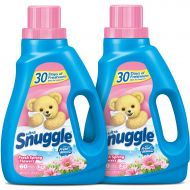 Fabric conditioner Snuggle Liquid Fabric Softener with Fresh Release, Fresh Spring Flowers, 48 Fluid Ounces (Pack of 2)