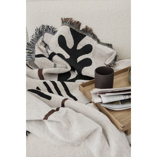 Ferm Living Mirage Blanket, Off White