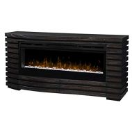 DIMPLEX Elliot Mantel Fireplace with Glass Ember Bed