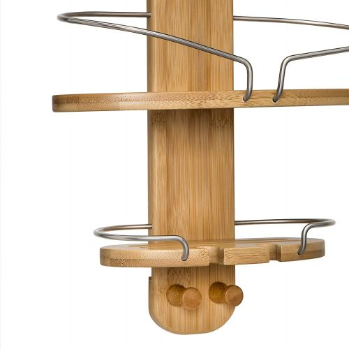 Honey-Can-Do BTH-06898 Bamboo Shower Caddy