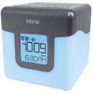 IHome iHome Bluetooth Color Changing Dual Alarm Clock FM Radio with USB Charging