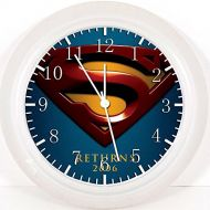 IKEA New Superman Wall Clock 10 Will Be Nice Gift and Room Wall Decor Z92