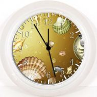 IKEA New Sea Shells Wall Clock 10 Will Be Nice Gift and Room Wall Decor W136