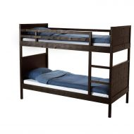 IKEA.. 502.690.29 Norddal Bunk Bed Frame, Black-Brown