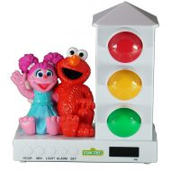 Its About Time Stoplight Sleep Enhancing Alarm Clock for Kids, Purple/Pink Owls