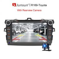 "[직배송][추가금없음]Junsun 8"" 2 din Car Radio Gps Android 7.1 2G 32G For Toyota Corolla 2007~2011 Central Multimedia Bluetooth"