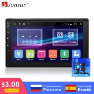 Junsun 7'' 2 Din Android Car Multimedia Radio Player GPS Navigation For Nissan Hyundai Honda Bluetooth Stereo Radio(no dvd)