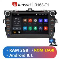 Junsun New RAM 2GB+16GB Android 8.1 Car Radio Player Multimedia For Toyota Corolla 2007~2011 8 DVD Player With GPS Bluetooth