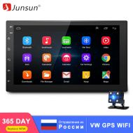 Junsun Android Car Multimedia player Autoradio 2 Din 7 Car Radio Audio Universal for Nissan VW GPS Navigation WIFI DVD Player