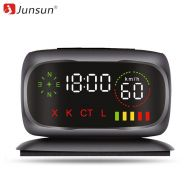 Junsun Radar Detector Police Speed Car Anti Radar Detectors XKCTL 360 Degree Auto GPS AntiRadar Detectors Radar for Russian