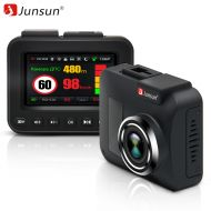 Junsun L8 Car Radar Detector For Russia Mstar MSC8328P 3 in 1 Video Recorder GPS DVR Camera FHD 1296P Night Vision Anti Radar