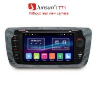 Junsun 2 Din Android 7.1 Car DVD Multimedia player For Seat Ibiza GPS Navigation OBD2 RDS Autoradio raido video audio player