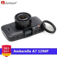 Junsun A7810 Ambarella A7 Car DVR Camera GPS Speedcam Full HD 1296P 60Fps vision Video Recorder Registrar Night vision Dash Cam