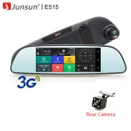 Junsun 6.5 Car DVR 3G Rear view Mirror Dual Lens Recorder Camera Full HD 1080P Dash Cam Android 5.0 GPS Registrar Black box