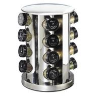 Kamenstein 16-Jar Stainless-Steel Spice Tower